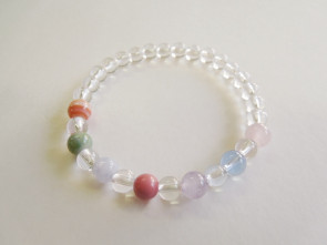 Yakuyoke 7 color bracelet(adjusted as close as possible to 15cm)