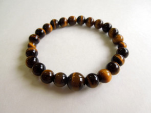 Tiger's eye 8mm bracelet